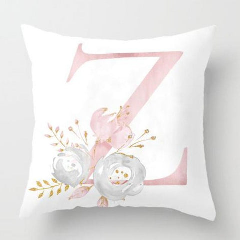 Image of Kids Room Decoration Letter Pillowcase