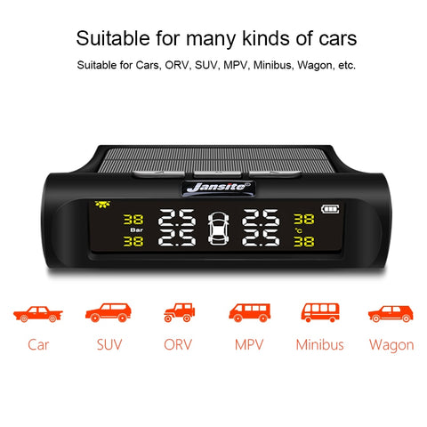 Car Tire Pressure Monitoring System Solar Charging