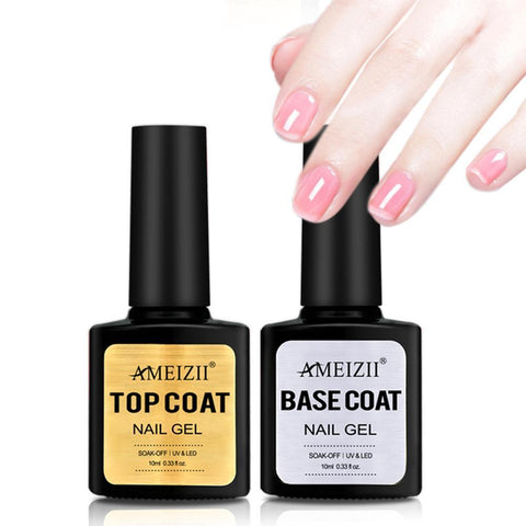 Image of Transparent Top Base Coat UV Nail Polish Gel