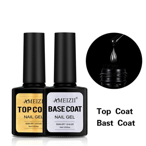 Transparent Top Base Coat UV Nail Polish Gel