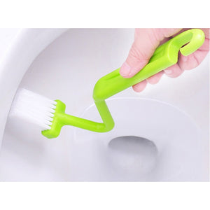 S-shaped Toilet Kitchen Side Corners Cleaner