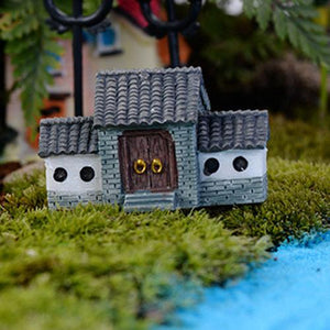 DIY House Villa Woodland Fairy Planter Garden Decor