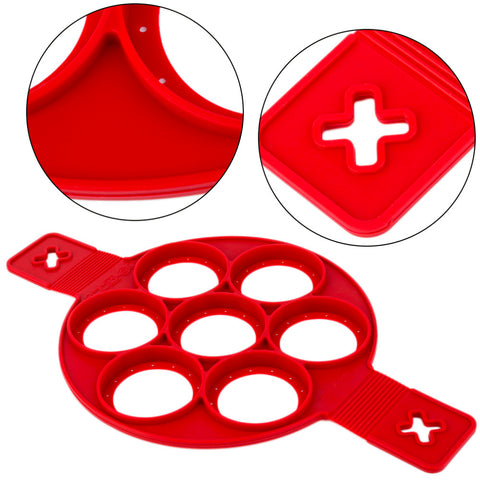 Image of Pancakes/Eggs Silicone Moulds