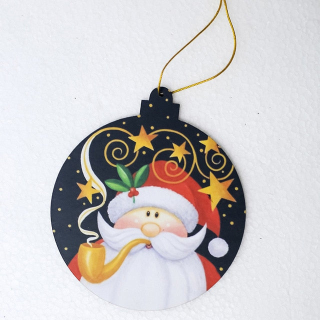 Santa Claus Deer Decorations