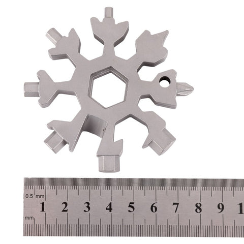 Image of 18 IN 1 Snowflake Tactical Tools