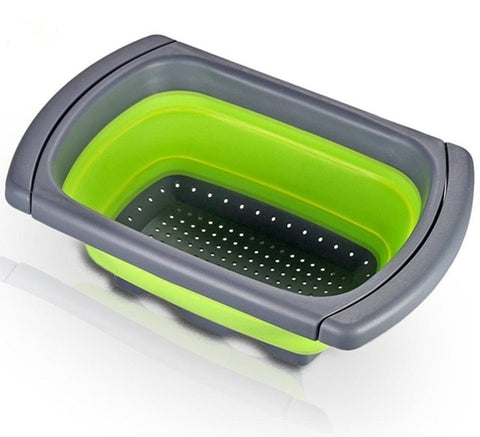 Image of Silicone Collapsible Colander