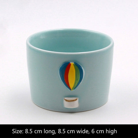 Image of Ceramic Flower Pot Planter