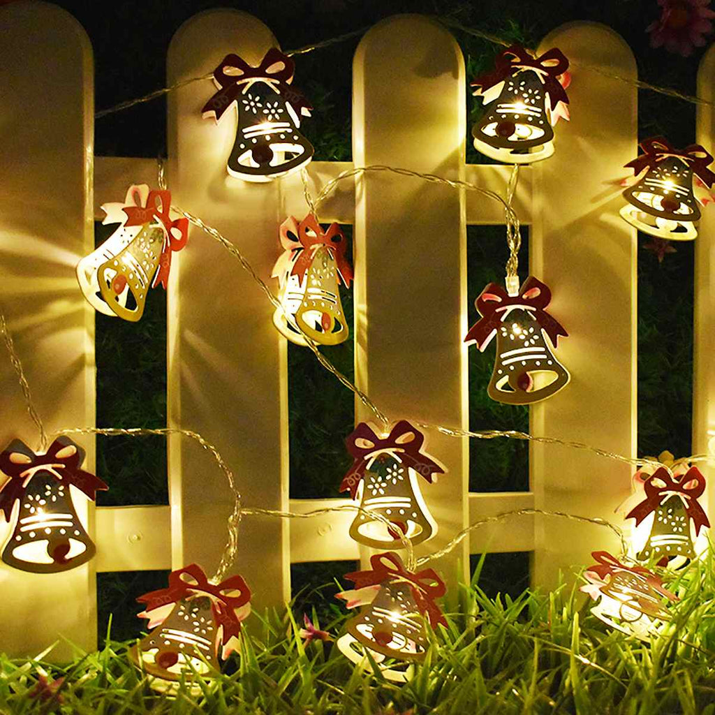 Christmas String Light Bell