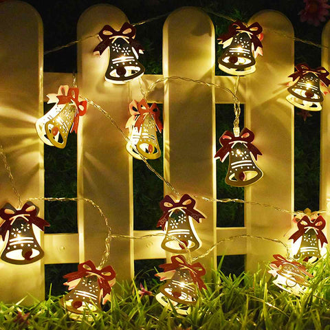 Image of Christmas String Light Bell