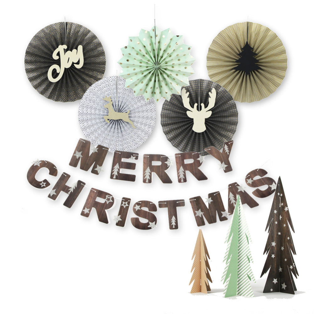 Christmas Paper Decoration Set