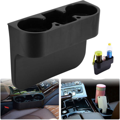Image of Car Cup Holder Interior Car Storage Organizer