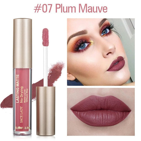 Image of Women Waterproof Matte Liquid Lipstick