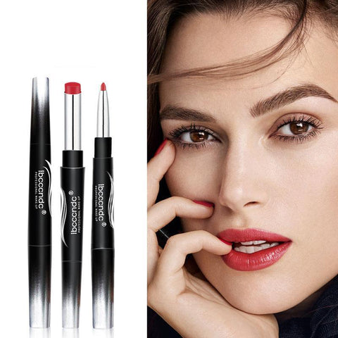 Image of Women Matte Double End Long Lasting Lipsticks