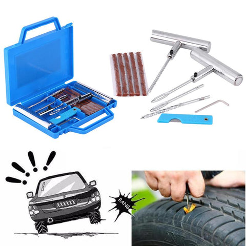 Image of Car Heavy Duty Tubeless Tire Puncture Repair Kit