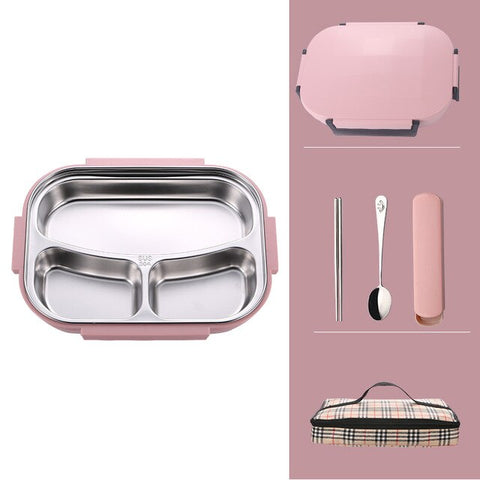 """The Perfect"" Stainless Steel Thermal Lunch Box"