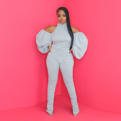 Pretty In Puff Jumpsuit