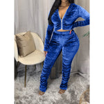 Sugar Coated Velvet 2 Piece