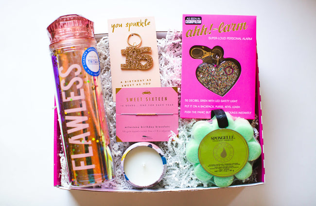 sweet 16 birthday box