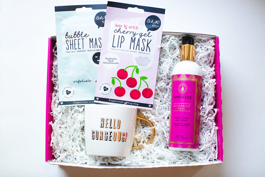 the perfect spa box to relax with