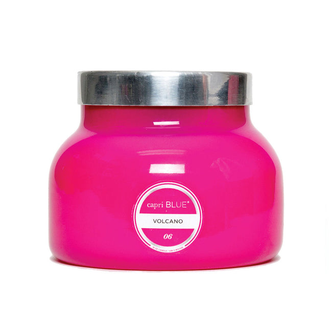 Volcano Pink Signature Jar Candle