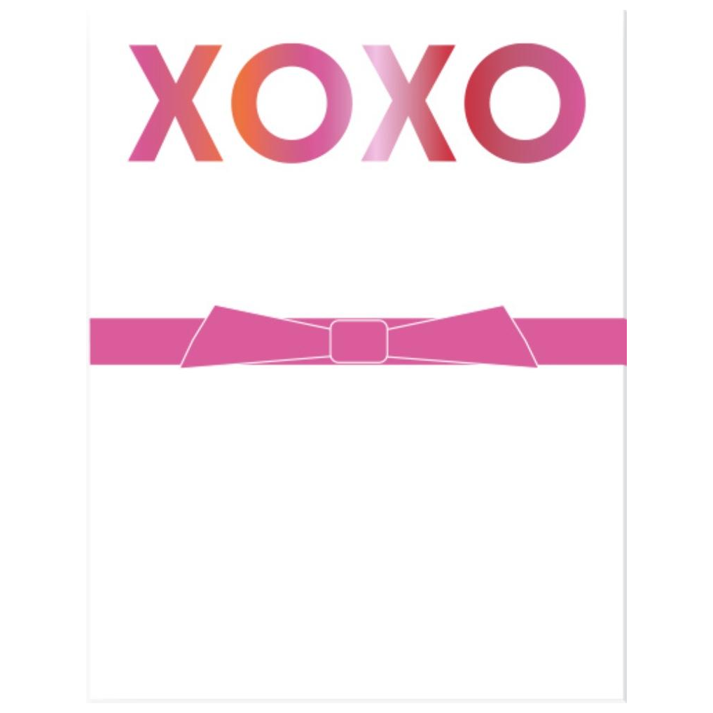 Mini XOXO Notepad