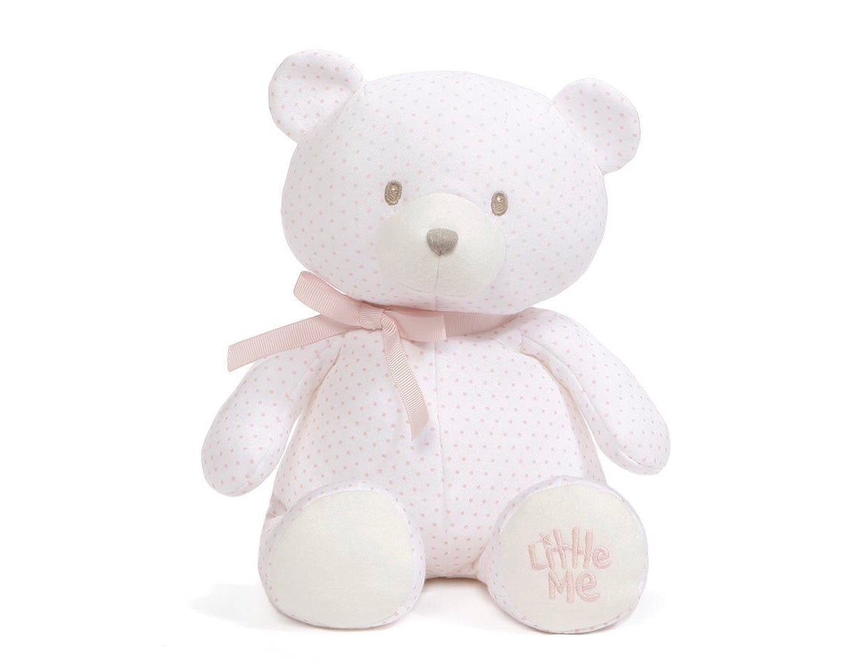 Little Me Pink Polka Dot Teddy