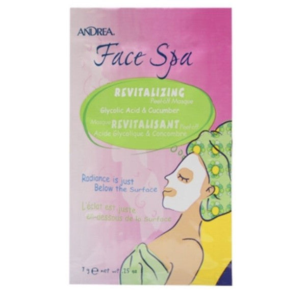 revitalization face mask spa relax