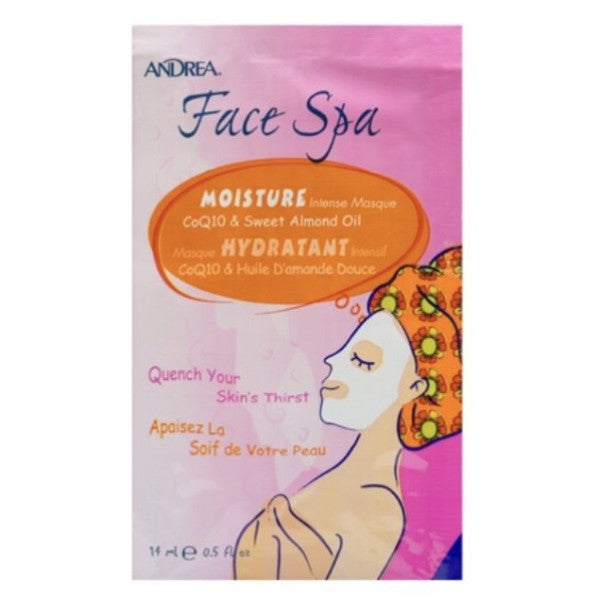 moisture face mask. relax and spa