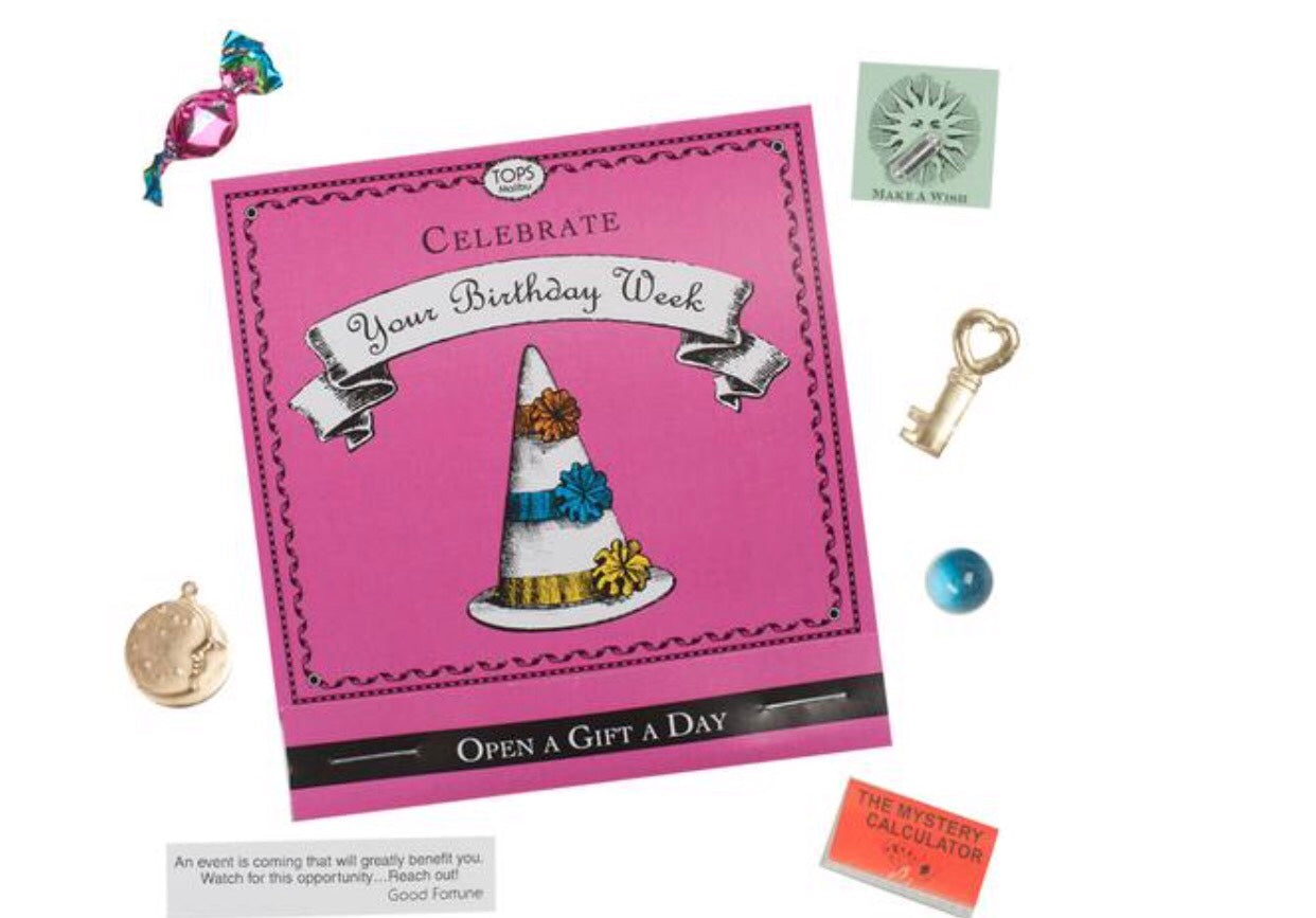 Celebrate Your Birthday Week 7 Gifts My Pink Party Box