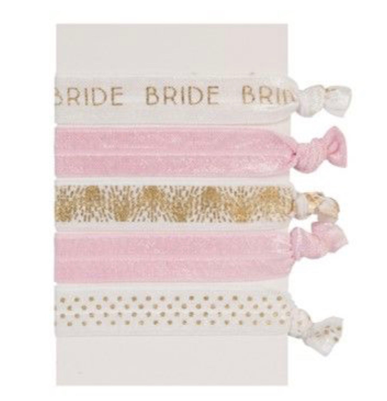 Bride elastic hair ties
