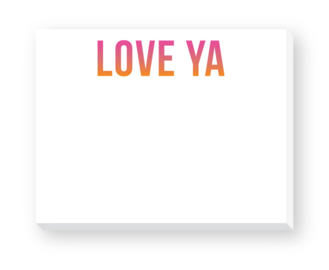 love ya notepad! great for your Love notes