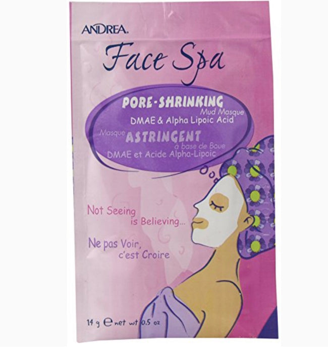pore shrinking Andrea face mask