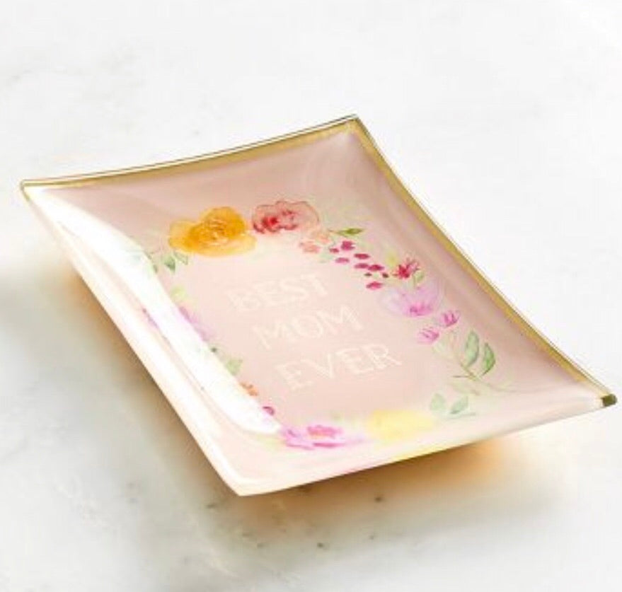best mom ever trinket tray! great for mothers day or birthday