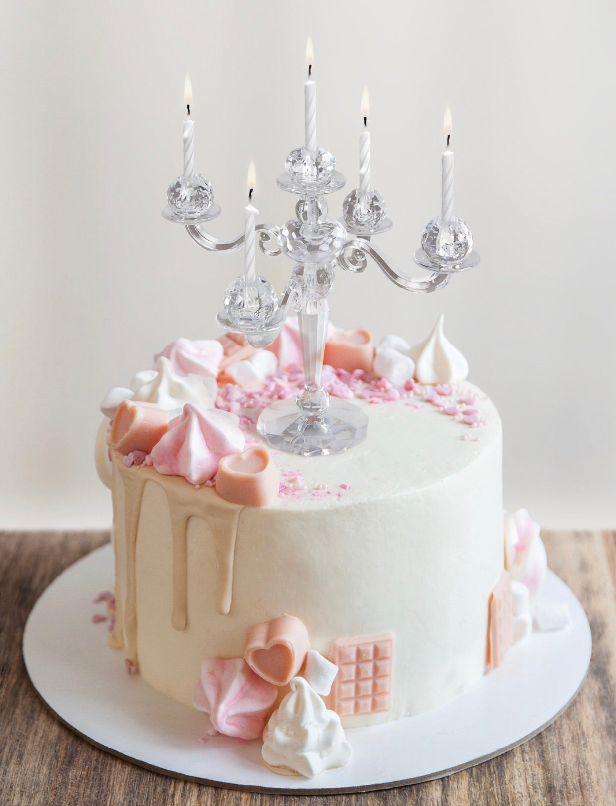 the cake candelabra is the perfect topping for your birthday cake