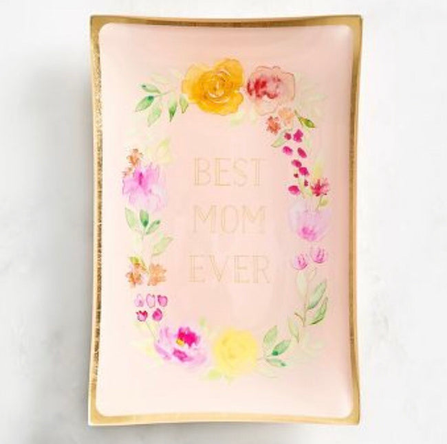 """best mom ever""trinket tray"