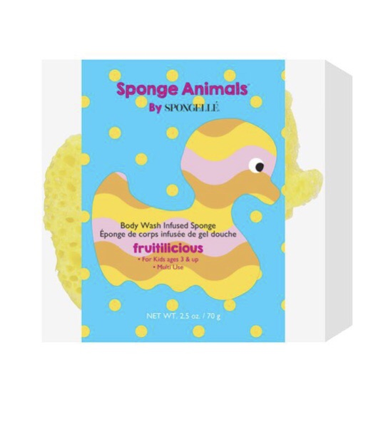 duck shaped spongelike great for kids