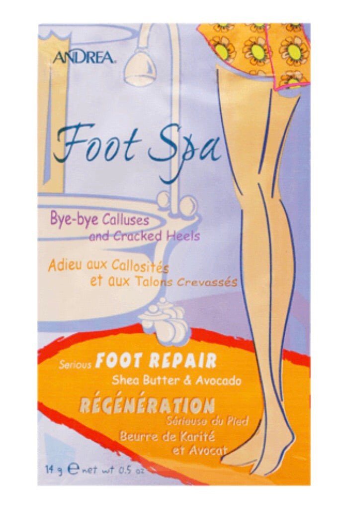 foot spa foot repair with Shea butter and avocado to relax your feet