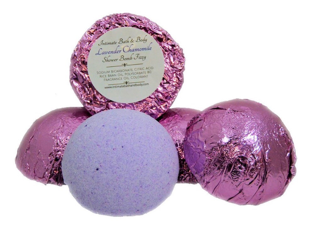 lavender chamomile aromatherapy shower steamers
