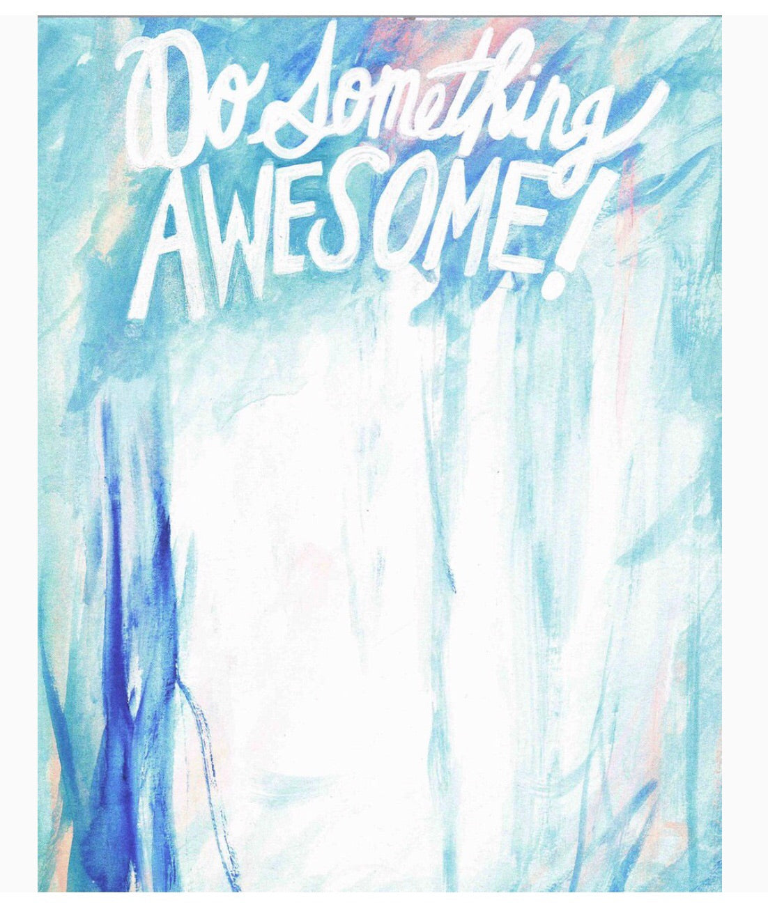 do something awesome notepad