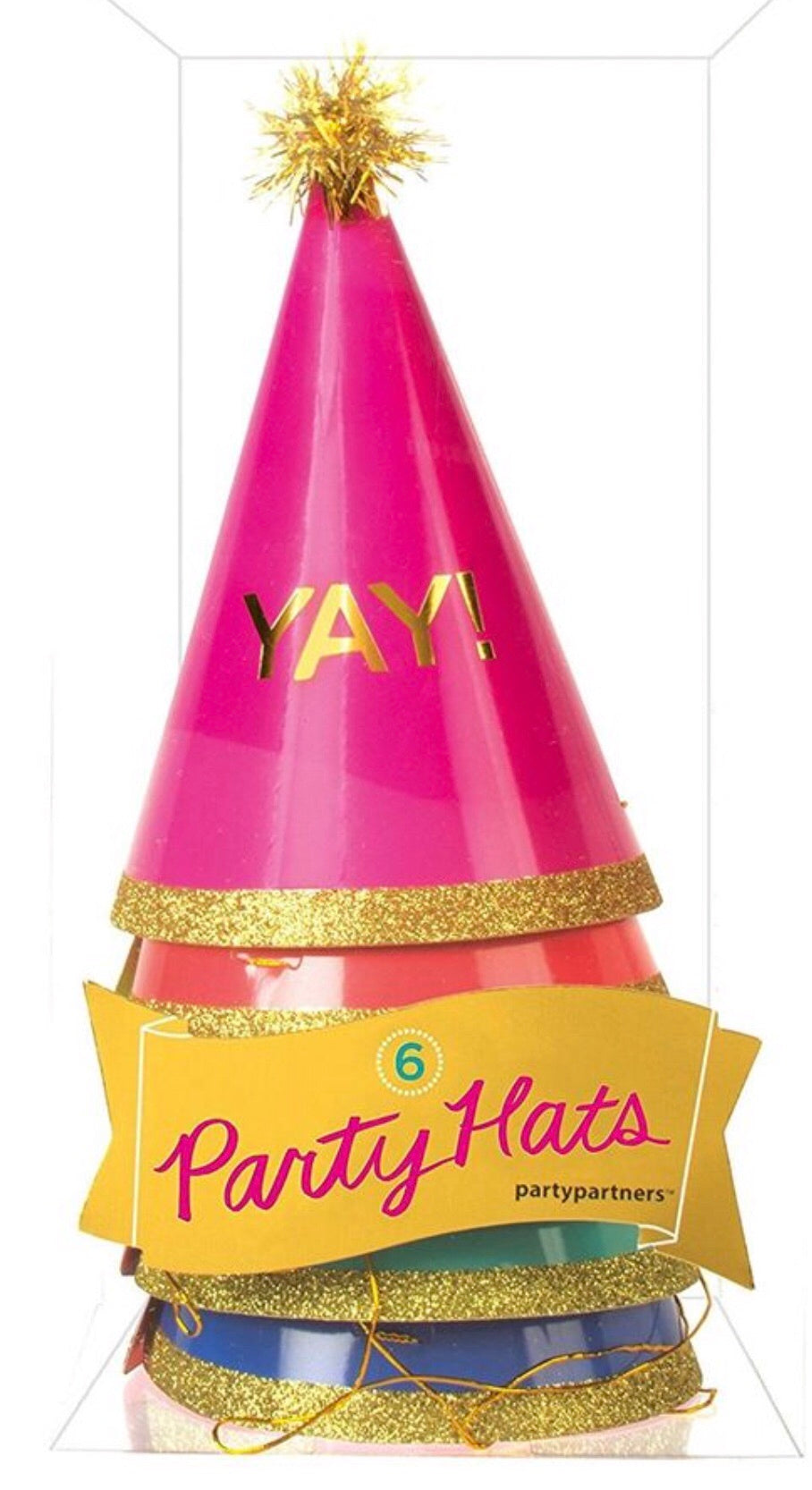 yay party hats