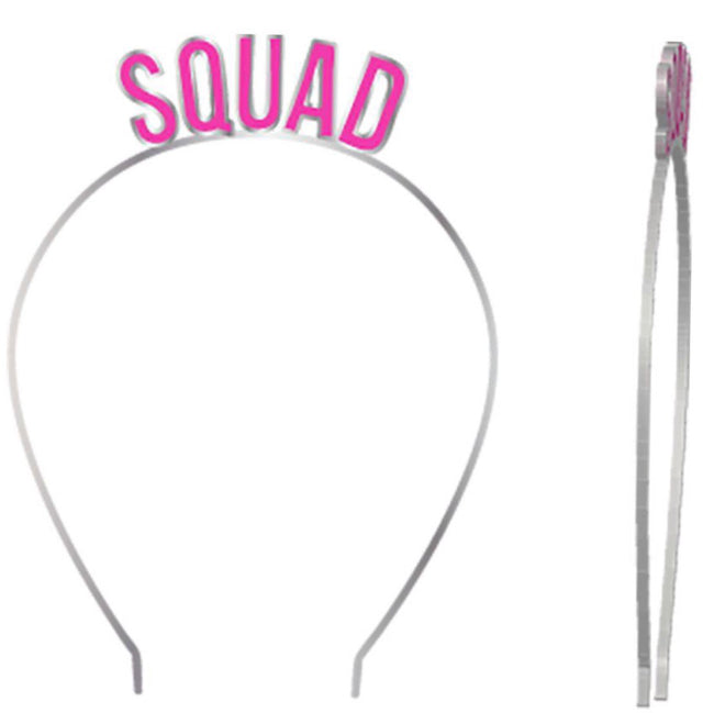 squad headband for bachelorette party