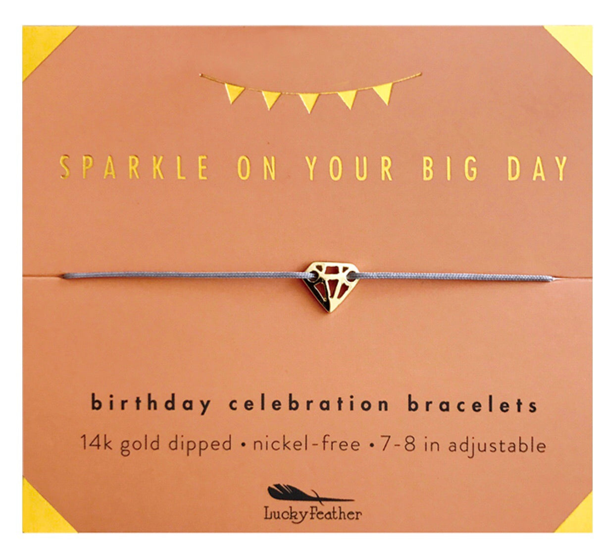 sparkle on your big day birthday bracelet