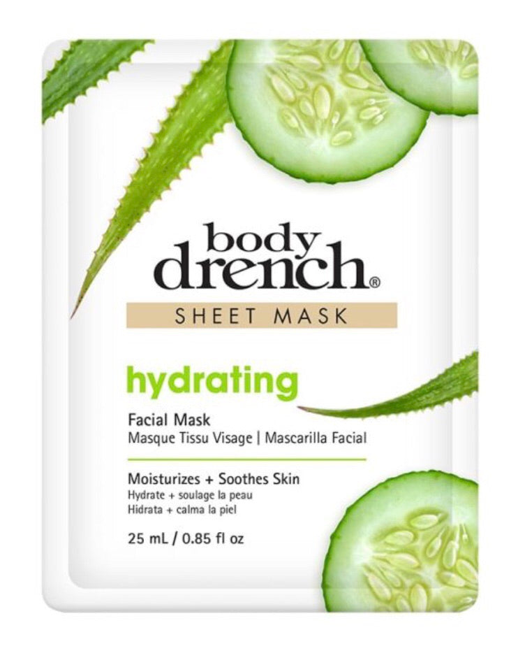 hydrating sheet mask from body drench