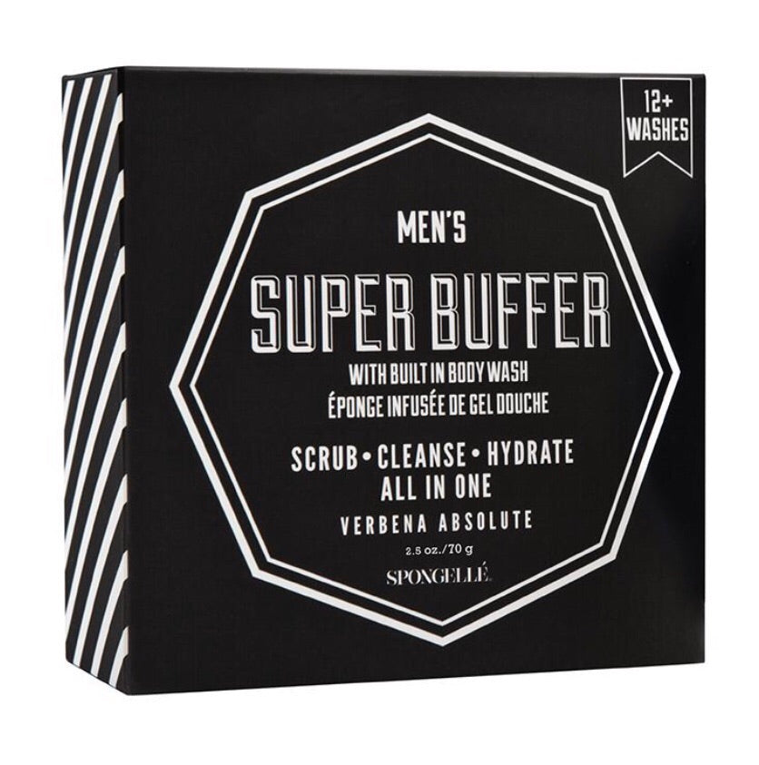 mens super buffer body wash