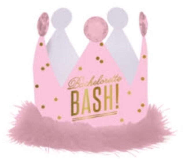 bachelorette bash party crown