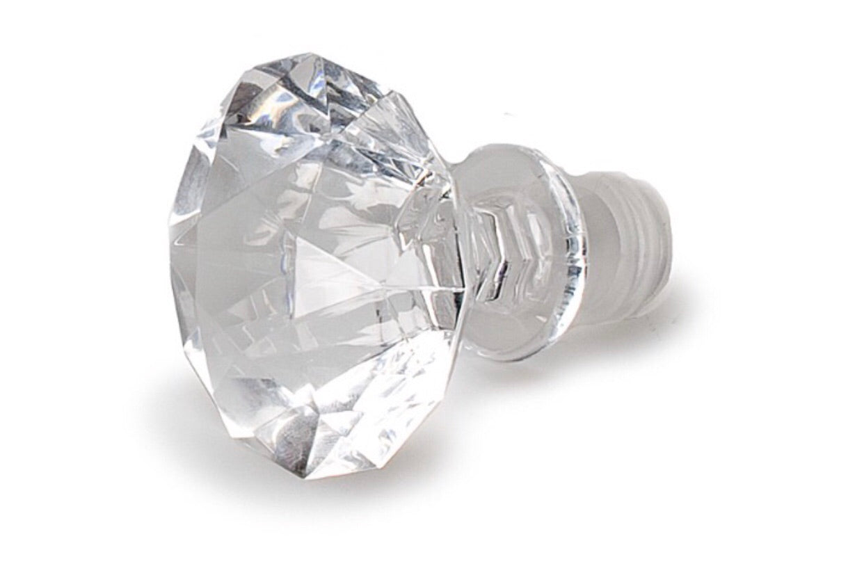 large big diamond bottle stopper perfect for decoration or wine