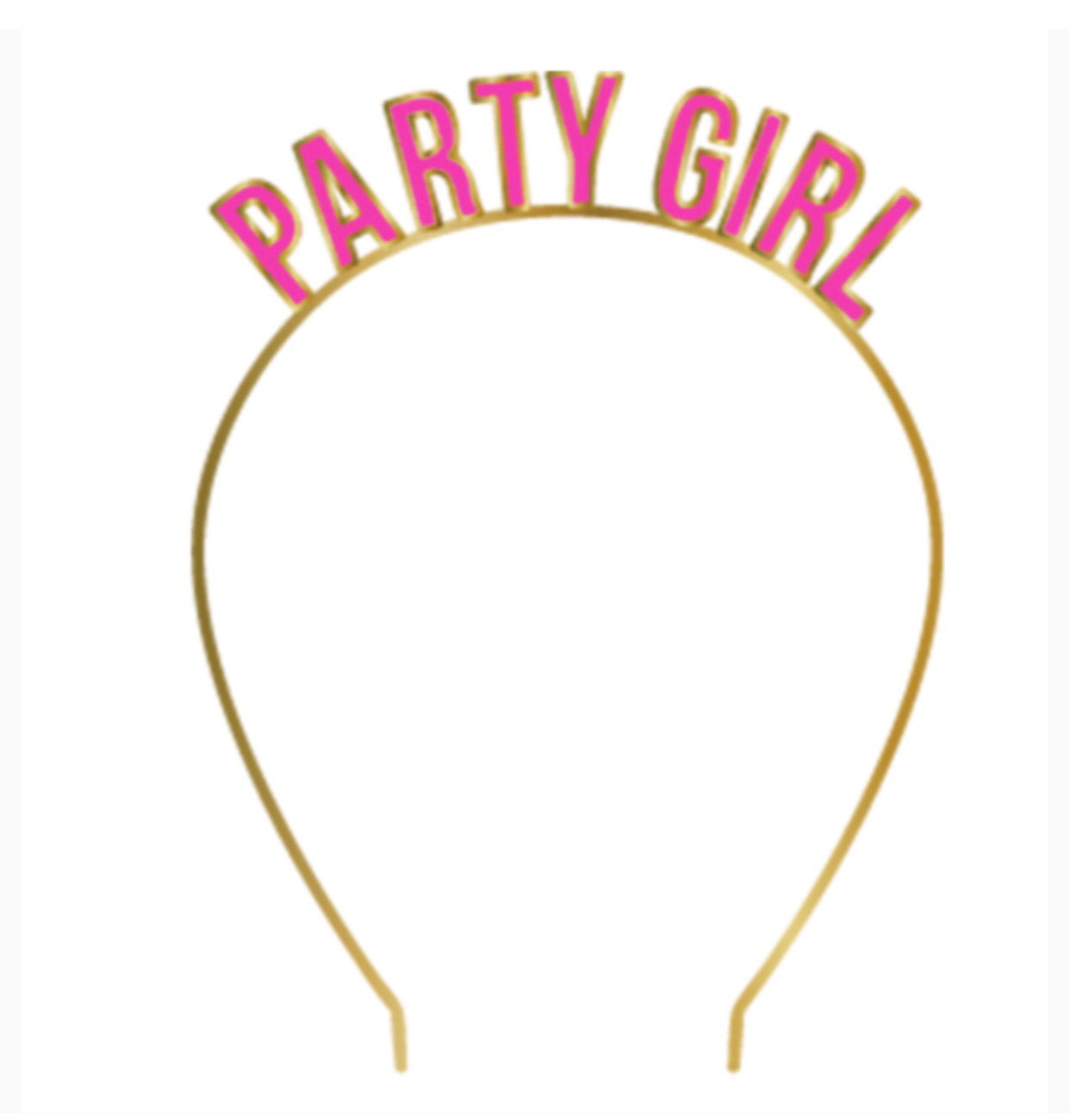 party girl head band