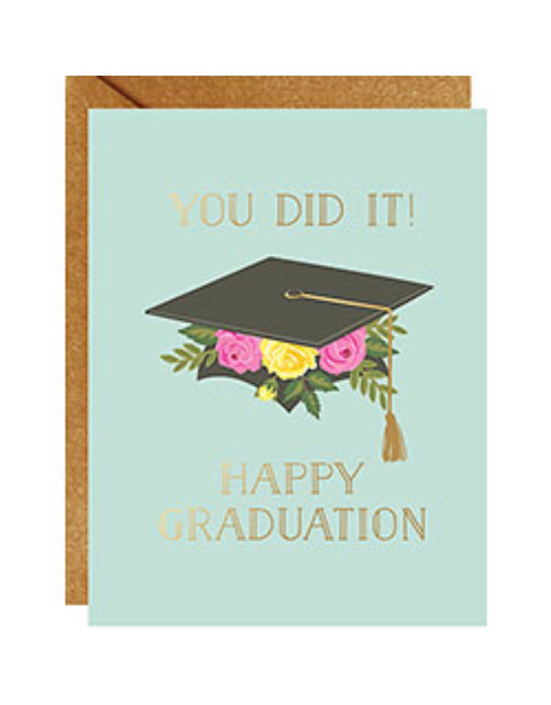 Happy Graduation greeting card