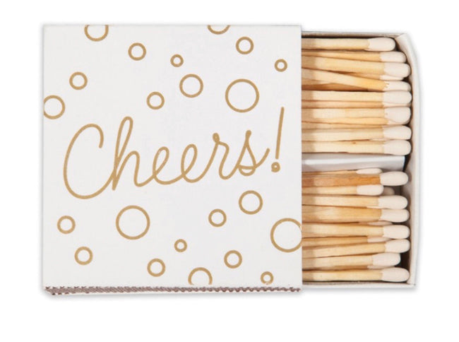 """cheers"" matchbox"