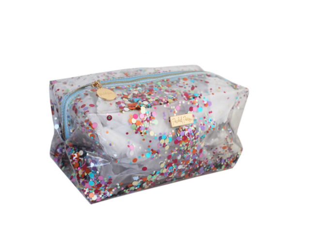 packed party essentials vanity bag
